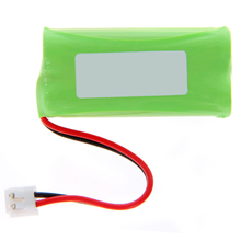 MAHA New 2X 2.4V 900mAh Ni-MH Cordless Phone Batteries for Uniden BT-1011 Fruit Green