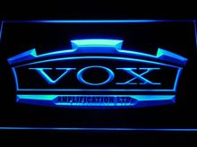 VOX Amplifier Guitar Bass Band Bar Beer pub club 3d signs LED Neon Sign home decor shop crafts