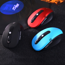 brand 6 key usb optical 2.4G Wireless mouse gaming gamer games mice mause For computer notebook pc Laptop Compute dota2 sem fio(China)