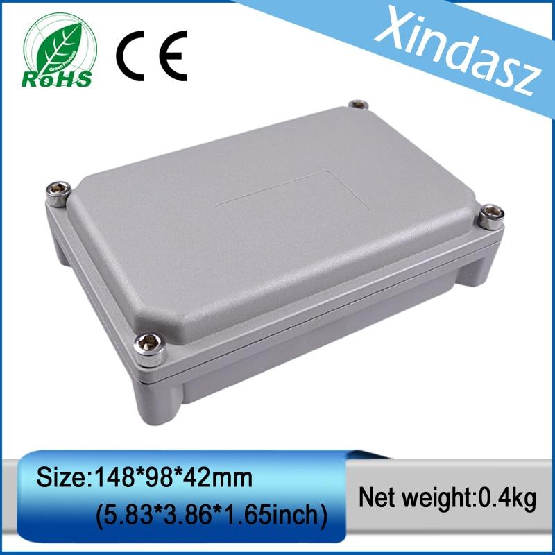XD-FA58 1pcs in stock IP66 water proof cast aluminum box aluminum die casting enclosure 148*98*42mm<br>
