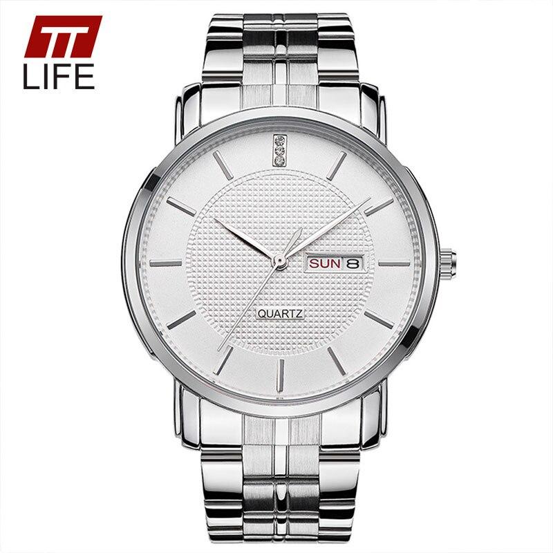 2016 TTLIFE Luxury Brand Couples Quartz Watch Stainless Steel Business Mens Watch Casual Women Wrist Watches Hot Lovers Clock<br><br>Aliexpress
