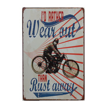 20*30CM Retro Metal Tin Sign Iron Sign Painting Motorcycle Series Decorative Plaque Tin Signs Plate Painting Wall Decor Poster