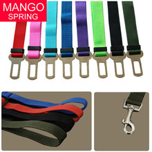 New Arrive Pet Dog Car Safety Seat Belt Adjustable Dog Puppy Cat Safety in Car(China)