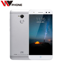 Original ZTE Blade A2  2G Ram 16GB ROM 4G Mobile Phone MT6750 Octa Core  Android 5.1  5.0 Inch 13.0MP Dual SIM Fingerprint