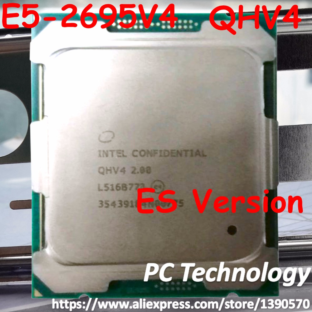 Intel Processor Cpu Es-Version E5 2695v4 18-Core Original 45MB QHV4 title=