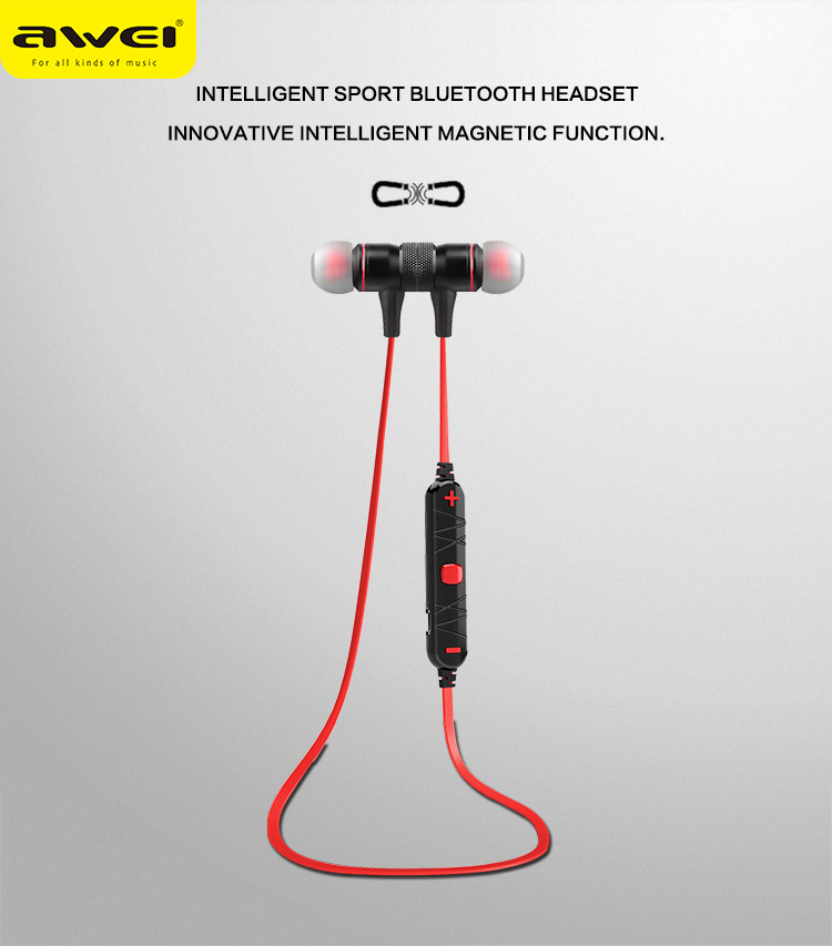 AWEI A920BL Bluetooth Headphones Wireless Earphone Magnetic Headset Ecouteur Auriculares Fone De Ouvido kulaklik Audifonos