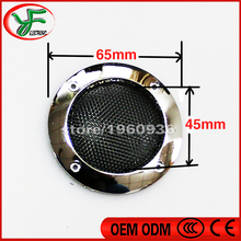 2 inch 65mm Silver Circle Round Mesh Woofer Protective Grille Speaker for Decorative Arcaed game cabinet machine parts 2PCS(China)