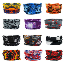 EXPRESS Shipping Wholesale 2017 New Design High Elastic Magic Headband Tube Cycling Multifunctional Bandana Outdoor Sports Scarf