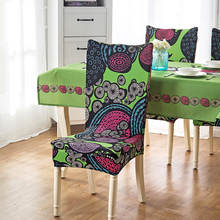 Polyester Dining Chair Covers Spandex Strech Dining Room Protector Slipcover Weddings Banquet Folding Hotel Machine Washable 1pc(China)