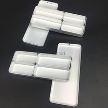 2pcs Dental Bur H K File Holder Block Disinfection Endo Box Rack Sterilizer Case