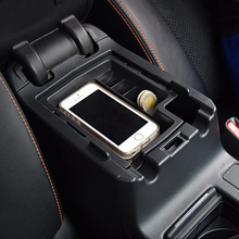 Car styling Armrest Storage Box Cover Center Console trays Fit XV 2012 2013 2014 2015 2016 - CTV Store store