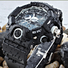 EPOZZ Men Sports Military Watches LED Digital Man Brand Watch 5ATM Dive Swim Dress Fashion Outdoor Boys Electronic Wristwatches(China)