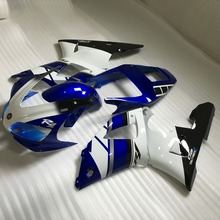 Motorcycle Fairing kit for YAMAHA YZFR1 YZF R1 1998 1999 YZF-R1 YZR1000 R1 98 99 ABS Blue white Fairings set +7gifts YY02(China)