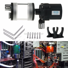 New 60mm Cylinder Water Tank + SC600 Pump Computer Water Cooling Radiator Set Drop Shipping(China)