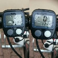1set LED LCD Display Cycling Bicycle Mountain Road MTB Bike Computer Odometer Speedometer Cycle Speedometer new