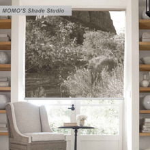 MOMO Blackout Window Curtains Roller Shades Blinds Thermal Insulated Fabric Custom Size Scenic ,PRB set204(China)