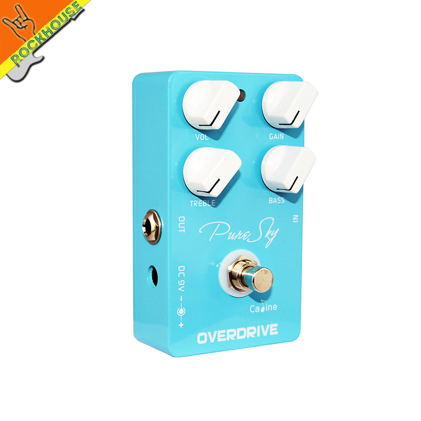 Caline CP-12 Pure Sky vintage overdrive Guitar Effects pedal overdrive guitar effect drive booster true bypass free shipping<br><br>Aliexpress