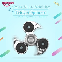 Buy Huanger Finger Hand Spinner Fidget Spinner Stress Wheel EDC Anxiety Stress Relief Toys Autism antistress 4 Colour Gift for $4.61 in AliExpress store