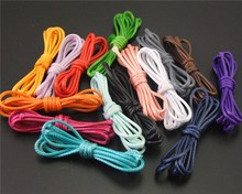 32ft(10meter)15 Color 1MM Wax String Waxed Cotton Cord Thread Chain Handmade Jewelry Findings In Bulk DIY Necklace Bracelet(China)