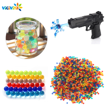 Assembling-Toy-Gun Bullets Crystal-Ball Viciviya Soft Kids DIY for Funny Xmas/birthday-Gifts