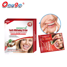 Onuge 28 Really Works Teeth Whitening Strips Professional Advanced Non-slip Coconut Oil Teeth Whitening Kits Bleaching White