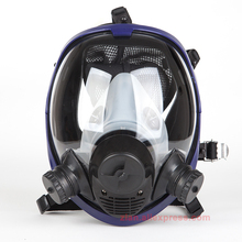 6800 body Gas Mask no filter dust Respirator Paint Pesticide Spray Silicone cartridge welding Chemical mask Support 3M filter(China)