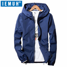IEMUH Man Thin Section Quick Drying Super Stretch Breathable Sun-protective Skin Wear Fishing Outdoor Windproof Hiking Jacket