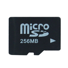 Small capacity 256M micro memory card for test Micro SD TF card 256MB microSD