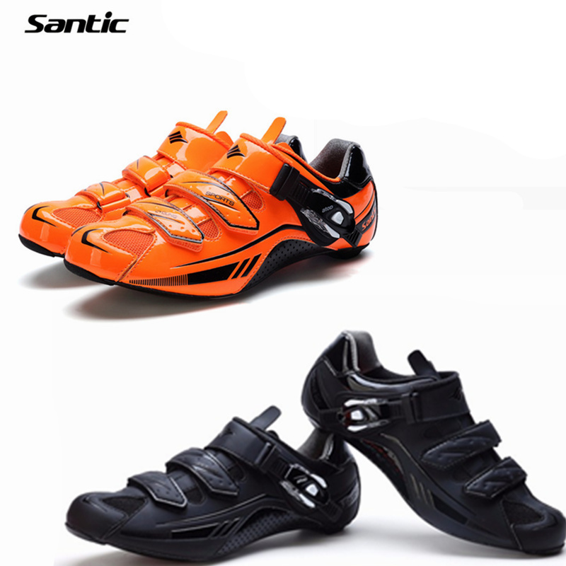 Santic Cycling Shoes Men Road Bike Shoes Pro Carbon Fiber Bicycle Locking Shoes Breathable&amp;Ultralight Zapatillas Ciclismo<br><br>Aliexpress