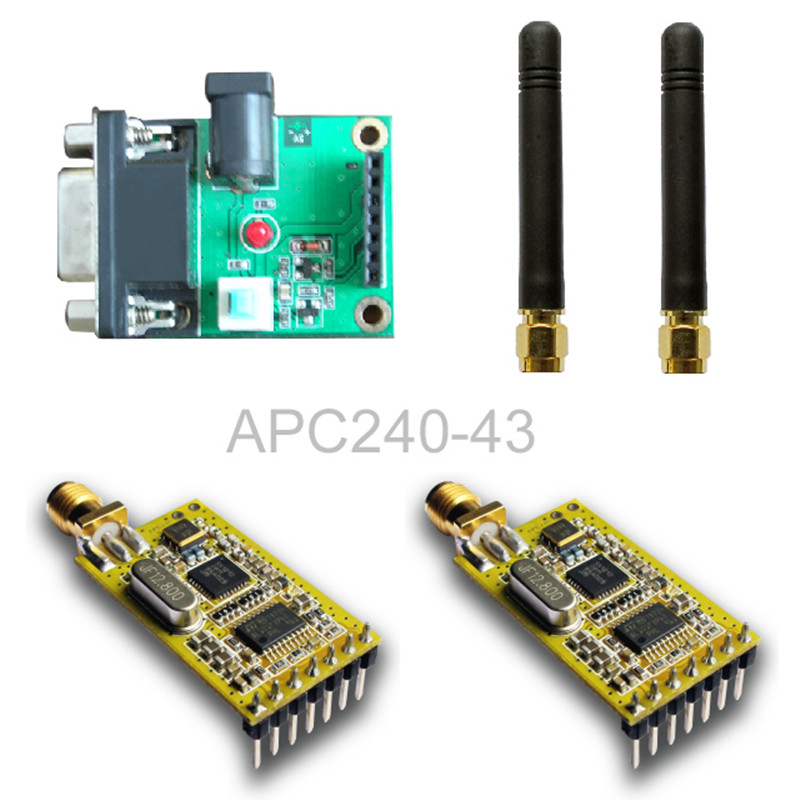 SX1212 all-powerful ultra-low power wireless module APC240 / set board with a serial set<br>