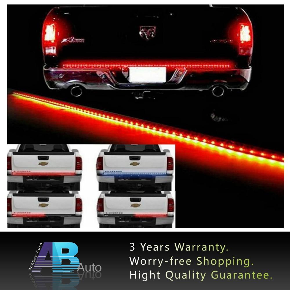 Waterproof 60 LED Strip Tailgate Bar Reverse Brake Turn Signal Tail Light for Honda Truck SUV 4x4 Dodge Ram<br><br>Aliexpress