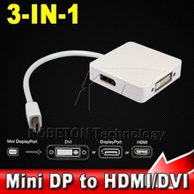 2015 Thunderbolt Mini DisplayPort Display Port DP to HDMI DVI 24 Adapter Cable For Apple Mac Macbook Pro Air iMac Notebook