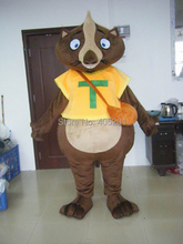 custom Lemur mascot costume character wild animal costumes orange costumes