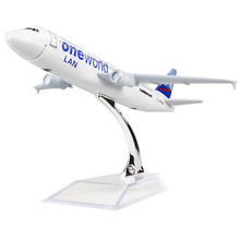 Chile LAN Airlines Oneworld Alliance A320 16cm model airplane child Birthday gift plane models toys Christmas gift