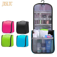 JXSLTC Brand Travel Cosmetic Bag Personal Care Box Travel Health Beautician Organizer Hanging  Waterproof make up Wash Bag A-703