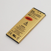 Hot Selling 2680mah High Capacity Gold Business Battery / Mobile Cell Phone Replace Batteries For BlackBerry Z10