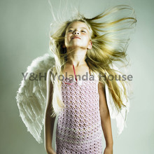 Adults Kids Feather Fairy Angel Wings Night Party Fancy Dress Costume cosplay Props Sexy costumes Wedding apparel accessories