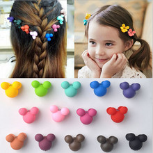 20 pcs/set Mix Color Cartoon Chartacter Plastic Hair Claws Hair Gripper for Children Hair Accessories
