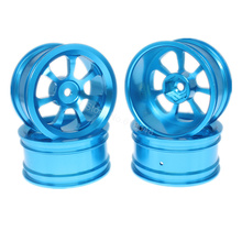 4pcs/Lot 26mm Aluminum Wheel Rims 12mm Hex Hub Diameter:52mm CNC For 1/10 Scale RC Model Car Upgrade Option Parts Hop Up
