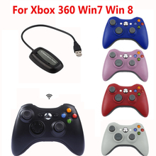2.4GHz Wireless Joypad Controller For XBOX 360 Wireless Remote Controle Joystick For Microsoft Xbox 360 Win 7/8 Game Controllers(China)