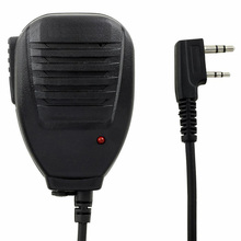 Original PTT Handheld Speaker Two Way Radio Speaker Microphone for walk talkie for Baofeng UV 5R 5RA 5RE 5R Plus 888s