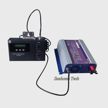 2000W solar grid tie inverter with power limiter prevent extra power to grid,pure sine wave,mppt solar grid tie inverter(China)