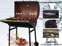 American import charcoal BBQ barbecue grill commercial large thickening bbq outdoor patio high quality barbecue(China)