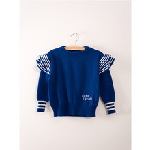 2017 Bobo Choses Autumn Winter Sweater Solid Color Cotton Pullover Sweaters Kids Boys Girls Knitted Sweater Children Clothes(China)