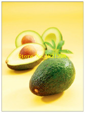Free Shipping 10pcs New Rare Green Avocado Seeds Very Delicious Pear Fruit mini Seed Growing easy For Home Garden pots tree
