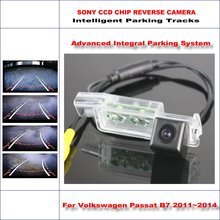 860 Pixels Car Rear Back Up Camera For Volkswagen Passat B7 2011~2014 Rearview Parking 580 TV Lines Dynamic Guidance Tragectory