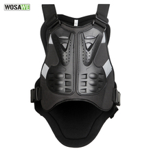 WOSAWE Bicycle Vest Motorcycle Skiing Racing Body Spine Armor Protector Backpiece Back Armor Protect Cycling Vest Back Support(China)