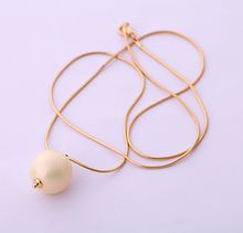 KISS ME Fashion accessories Women simulated pearl chain necklace long design necklace Factory Wholesale(China)