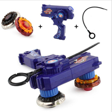 2pcs Gyro Toy Kit Leo Style Beyblade Metal Spinning Tops Gyro Fusion Gift Limited Edition Children Game Toys(China)