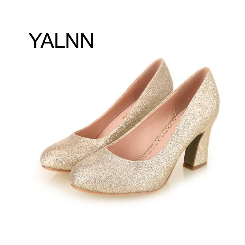 Golden Fashion Women 5CM Heels Weeding High Heel Shoes 3cm New Fashion High Heels Shoes Party Shoes Pumps for Women<br><br>Aliexpress